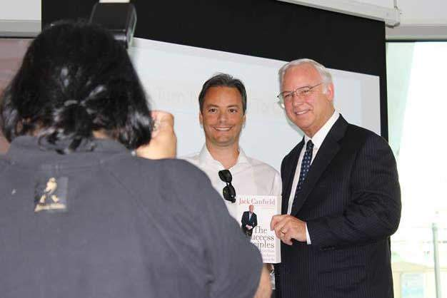 Christian Farioli with Jack Canfield
